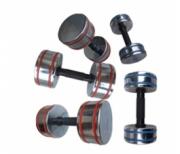 Хромированные гантели IronMaster IR92021 - 1-10 кг