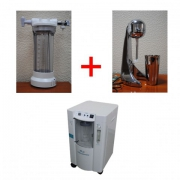 Комплект для приготовления кислородной пенки и коктейля