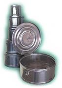 Коробка стерилизационная с фильтром КСКФ-6 (6 дм3, Д. 245мм)